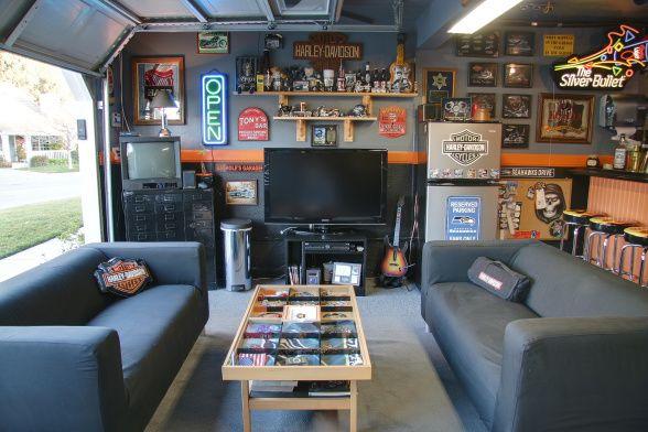 Man Cave Garage Ideas | Smart Garage on Garage Decorating Ideas  id=86861