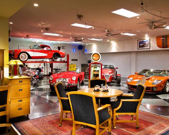 Man Cave Garage Ideas | Smart Garage on Garage Decorating Ideas  id=53373