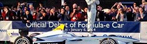 Lanzamiento Oficial Fórmula 1 de Autos Eléctricos (FE)