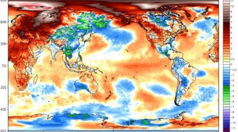 Empezamos a cruzar la línea roja del calentamiento global