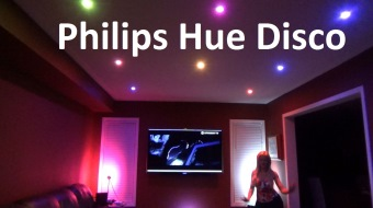 Philips Hue disco app