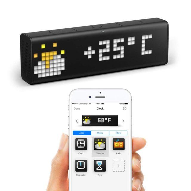 LA Metric Pixel Time Wi-Fi Clock