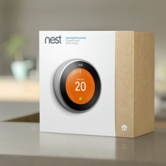 Nest Learning Thermostat Home Routine