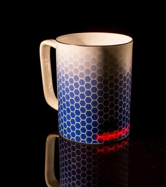 Glowstone Honeycomb self heating Mug
