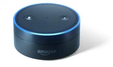 Unboxing the Amazon Echo Dot
