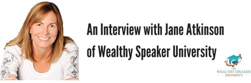 jane atkinson on growing a speaking business