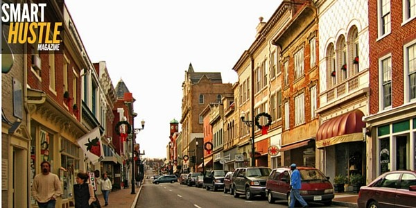 top 5 small town destinations