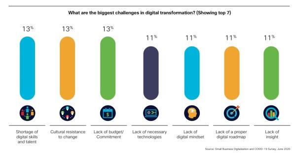 Small Business Digitalization digital transformation challenges