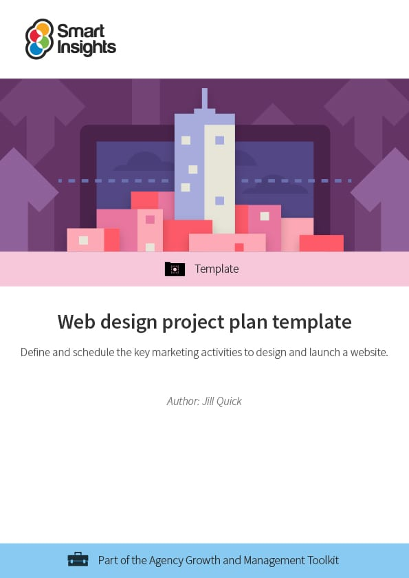 Download the word document template. Web Design Project Plan Template Smart Insights