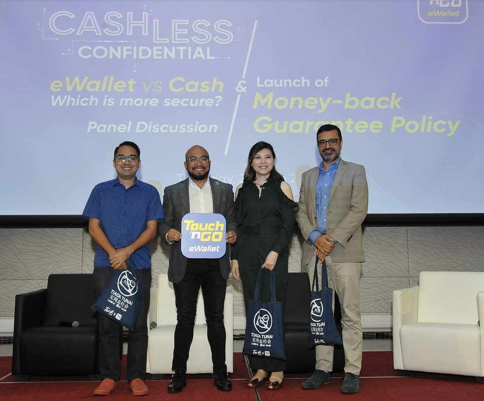 Touch 'N Go eWallet Users, You are Now Covered