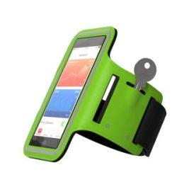 Et armbåndsdeksel med lomme til husnøkkel.