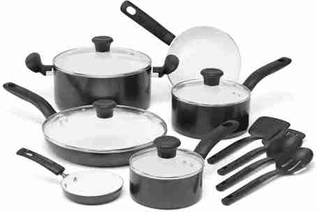 Initiatives Nonstick Ceramic Cooking set C996SE by T-fal Image