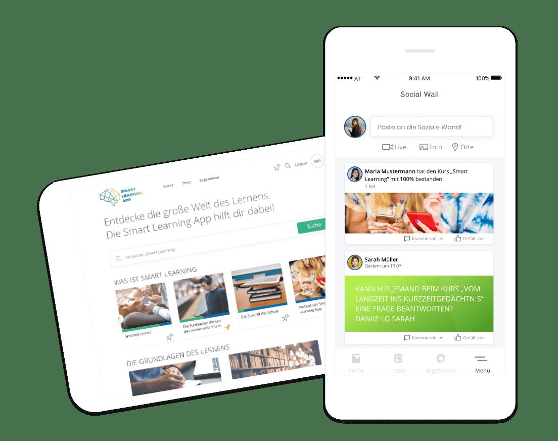 Smart Learning Mockup