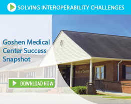 Goshen Medical Center Building Where Smartlink Software is Deployed