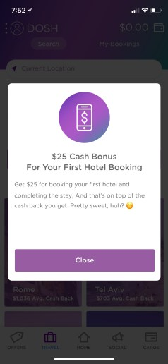25 Off a hotel
