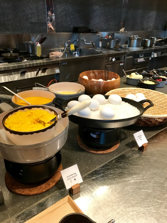 Andaz Tokyo Breakfast - Eggs and Omelettes