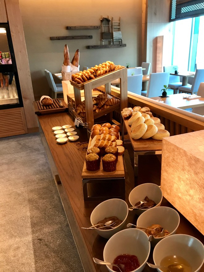 Conrad Tokyo, fresh breads and pastries