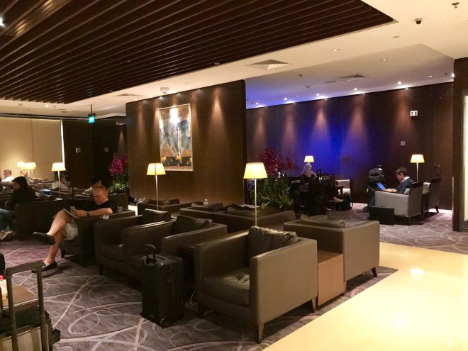 Singapore Changi, SilverKris Lounge