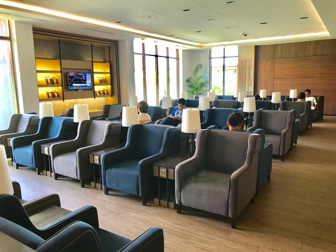 Plaza Premium Lounge, Siem Reap, Seating