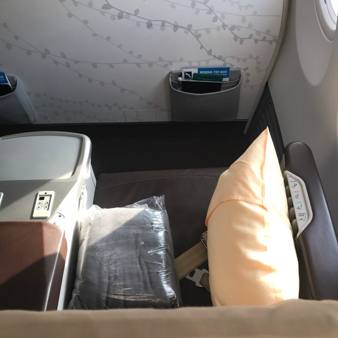 SilkAir Business Class Bulkhead Seating