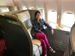 QL in Cathay First Class
