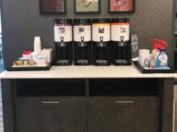 Hampton Inn Monterey Coffee