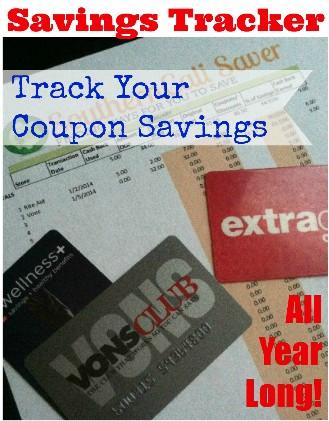 Track your Coupon Savings