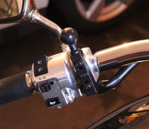 RAM brake or clutch reservoir base