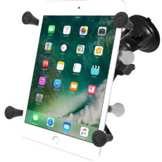 "RAM Twist-Lock™ Suction Cup Mount with Universal X-Grip® Cradle for 7""-8"" Tablets"
