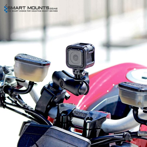 RAM Tough-Claw with Custom GoPro/Action Camera Adapter