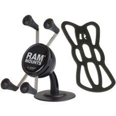 RAM Lil Buddy™ Adhesive Stick Base Mount with Universal X-Grip® Cell Phone Cradle
