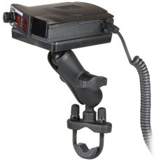 RAM Handlebar U-Bolt Mount with Magnetic Power Plate™ III Radar Detector Holder