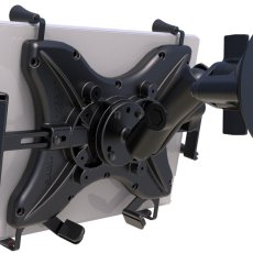 RAM Twist-Lock™ Suction Cup Mount with Universal X-Grip® Cradle for 12