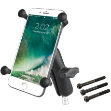 RAM Motorcycle Handlebar Clamp Mount with Universal X-Grip® Large Phone Holder