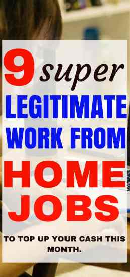 These 9 work from home jobs are seriously the best. They will help you make extra money right from your couch so that you can stop living paycheck to paycheck.