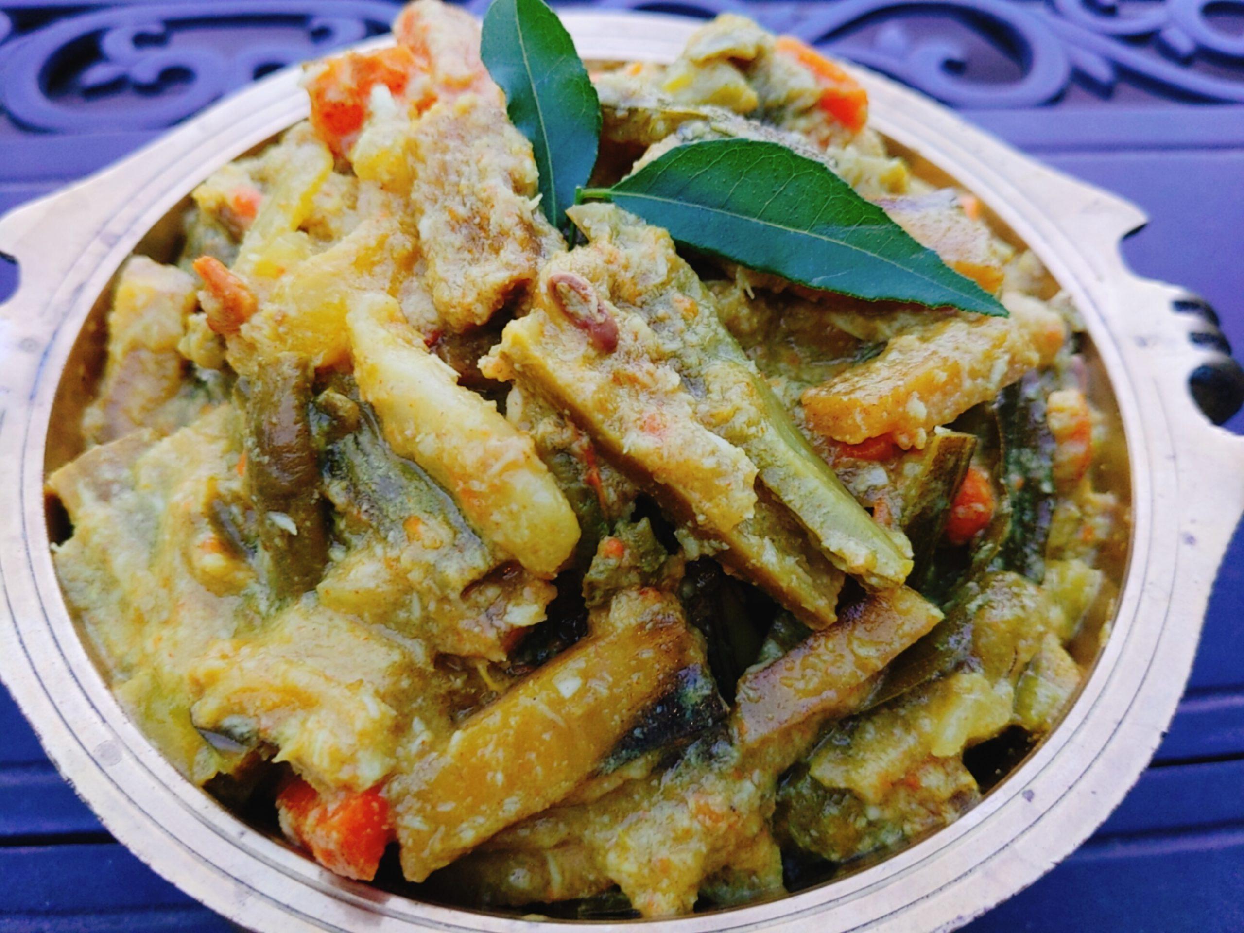 Kerala Vegetable Medley| Avial