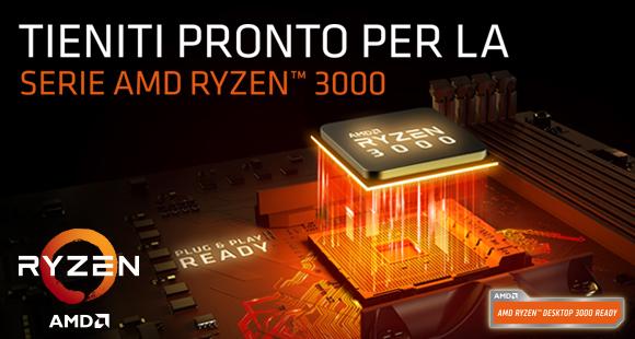 Nuovi processori AMD Ryzen 3000!
