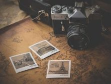 camera and photos for travelling