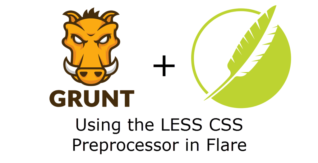 Using the Grunt task automator to use LESS in MadCap Flare projects