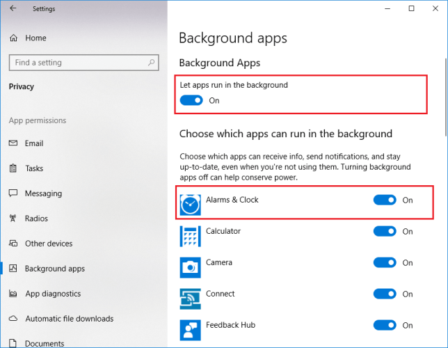 Prevent Windows 10 Store Apps From Running in the Background