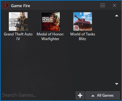 Game Fire 6.4 - My Games