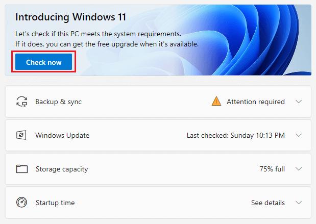 Windows 11 PC Check