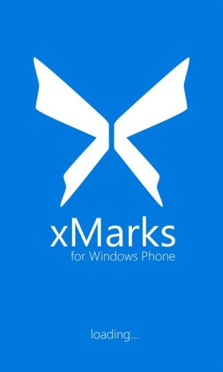 Xmarks-App für das Windows Phone