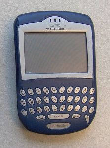 Blackberry 7230 (Foto: Wikipedia)