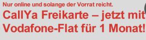Daten-Roaming mit CallYa-Freikarte (Foto: Vodafone, Screenshot: SmartPhoneFan.de)