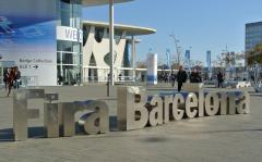 Blick auf das Messezentrum in Barcelona (Foto: teltarif.de)