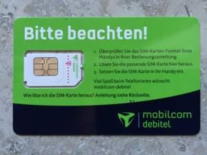 Daten-SIM von Crash-Tarife.de
