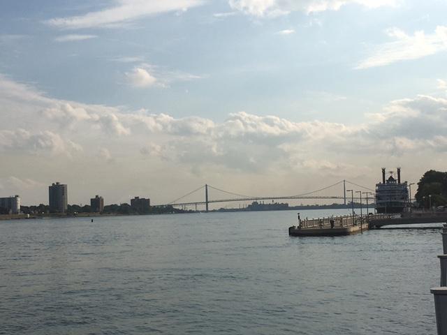 Ambassador Brücke zwischen Windsor und Detroit
