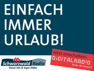 Schwarzwaldradio bundesweit via DAB+ zu empfangen (Foto: Schwarzwaldradio)
