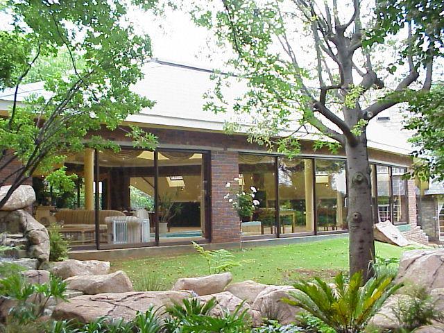 """Das Gästehaus Out of Africa in Bedfordview war vom 23. bis 25. Oktober 2000 unsere """"Heimat"""""""